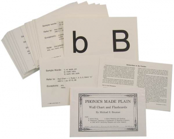 Phonics Made Plain (Cards & Chart)