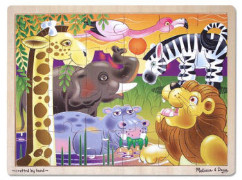 African Plains - 24 Piece Jigsaw Puzzle