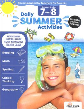 Daily Summer Activities 7-8