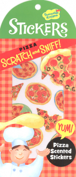 Pizza Scratch & Sniff! Stickers
