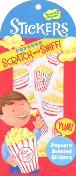 Popcorn Scratch & Sniff! Stickers
