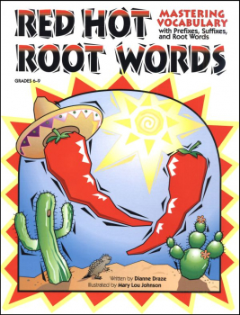 Red Hot Root Words Book 2 Grades 6-9
