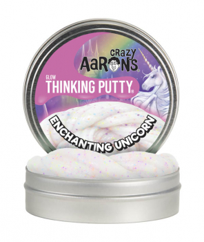 "Enchanting Unicorn Putty 4"" Tin (Glow in the Dark)"