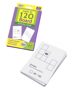 Parts of 120 Board Activity Cards