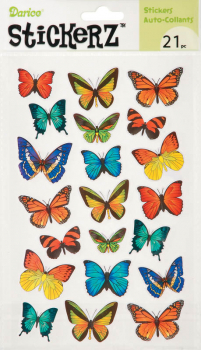 StickerZ: Paper Butterfly (21 pieces)