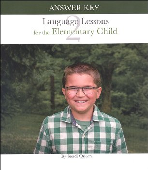 Language Lessons for Elementary Child Volume 2 Answer Key