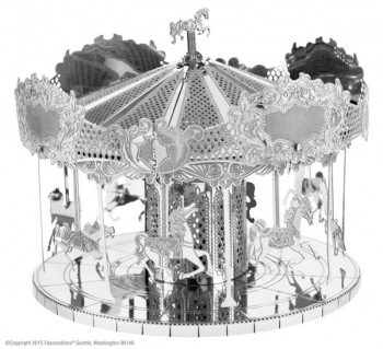Merry Go Round (Metal Earth 3D Laser Cut Model)