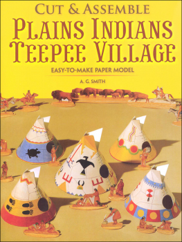Easy-to-Make Plains Teepee Village