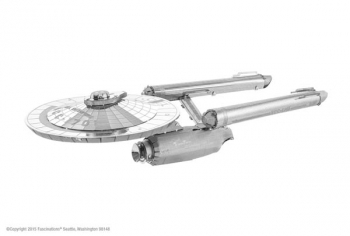 Star Trek: NCC-1701 (Metal Earth 3D Model)