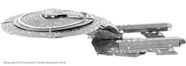 Star Trek: NCC-1701-D (Metal Earth 3D Model)