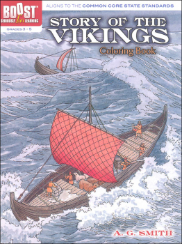 Story of the Vikings Coloring Book (Boost Series)