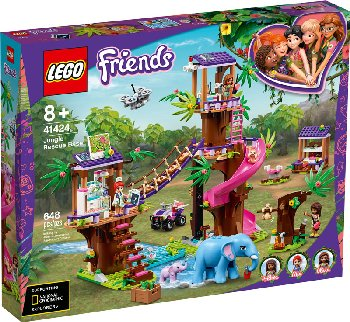 LEGO Friends Jungle Rescue Base (41424)