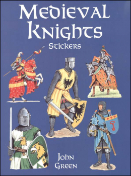 Medieval Knights Large Format Stickers