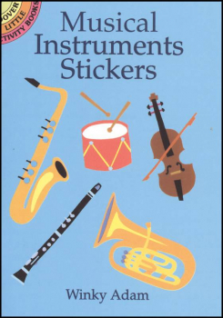 Musical Instruments Small Format Stickers
