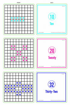 How Many? Activity Cards Set of 3 Levels (Sensational Math)