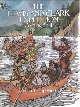 Lewis and Clark Coloring Book