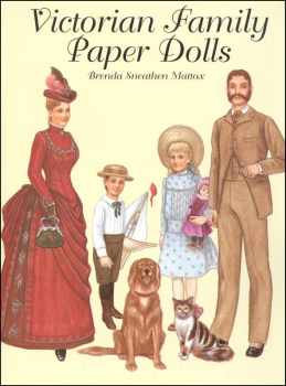 Victorian Family Paper Dolls