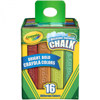 Crayola Washable Sidewalk Chalk - 16 count