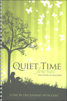 Quiet Time Journal - Gospel of Matthew (Green)