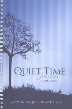 Quiet Time Journal - Special Edition (Blue)