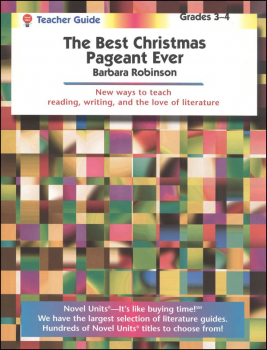 Best Christmas Pageant Ever Teacher Guide