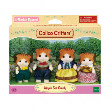 Maple Cat Family (Calico Critters)