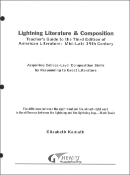 Lightning Literature & Composition American Literature Mid - Late 19th Century Teacher Guide
