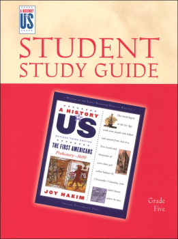 First Americans Student Study Guide (History of US Book 1) 3ED rev
