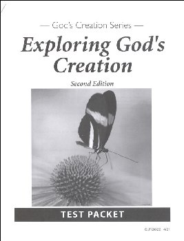 Exploring God's Creation Test & Key