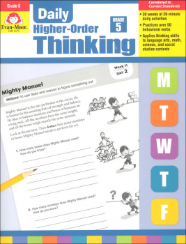 Daily Higher-Order Thinking: Grade 5