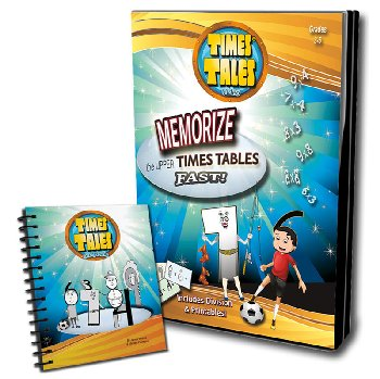 Upper Times Tables DVD with Mini Flip Chart