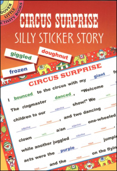 Circus Surprise Silly Sticker Story
