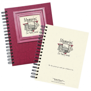 Memories - Our Family Journal - Cranberry