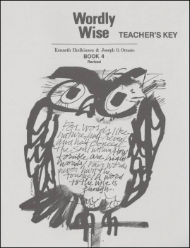 Wordly Wise 4 Teacher Key