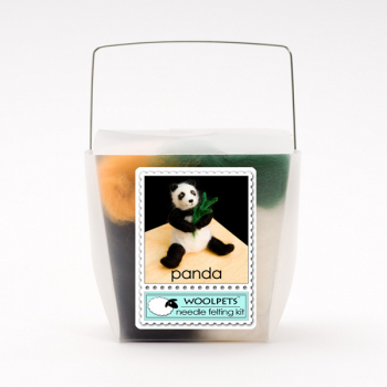 Needle Felting Kit: Panda