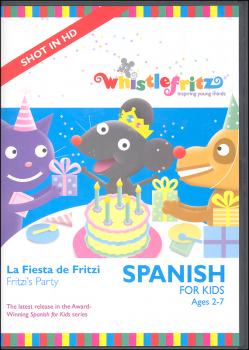 Spanish for Kids: La Fiesta de Fritzi (Fritzi's Party) DVD