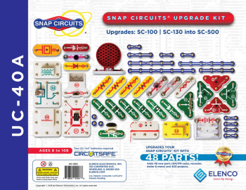Snap Circuits Upgrade Kit SC-100/SC-130 to SC-500