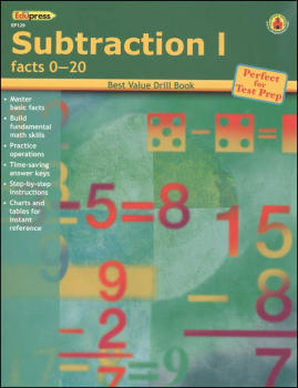 Subtraction I - Facts 0-20 (BVDB)