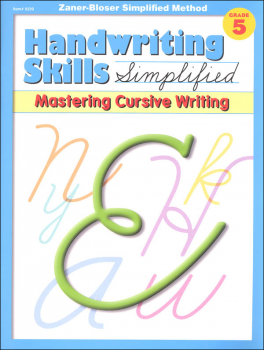Handwriting Skills Simplified Level E