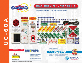 Snap Circuits Upgrade Kit SC-100/SC130 to SC-750