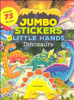 Jumbo Stickers for Little Hands Dinosaurs