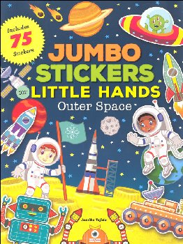 Jumbo Stickers for Little Hands Outer Space
