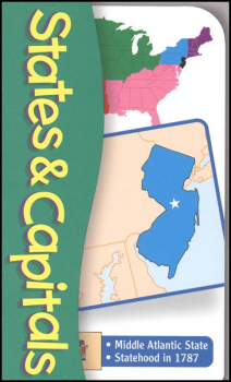 States and Capitals Pocket Flashcards
