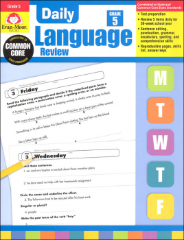Daily Language Review Grade 5