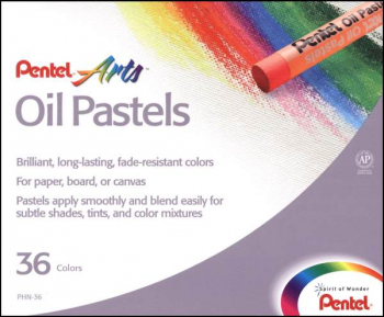 Pentel Oil Pastels 36-color Set