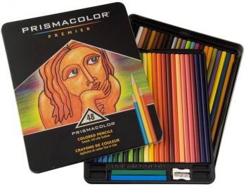 Prismacolor Colored Pencils 48 / set