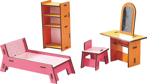 Little Friends - Beauty Corner Dollhouse Furniture