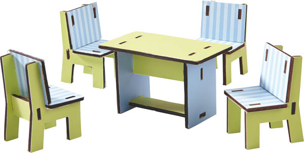 Little Friends - Dining Room Dollhouse Furniture