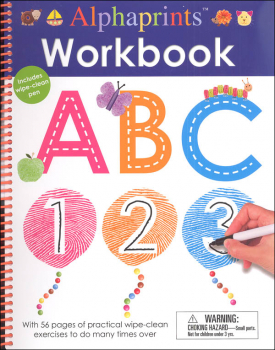 Wipe Clean Workbook ABC 123 (Alphaprints)