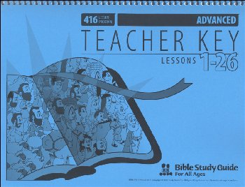 Advanced Teacher Key for Lessons 001-26